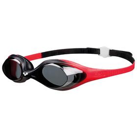 arena Spider Goggles Kids red-smoke-black